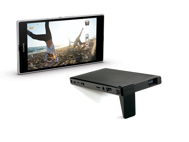 Sony's portable mobile projector MP-CL1