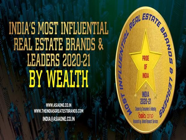 AsiaOne lists top 50 influential real estate brands and leaders 2020-21 Read more At:  https://www.aninews.in/news/business/business/asiaone-lists-top-50-influential-real-estate-brands-and-leaders-2020-2120210702193009/