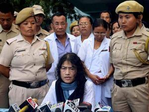 Civil rights activist Irom Sharmila ended her 16-year hunger strike