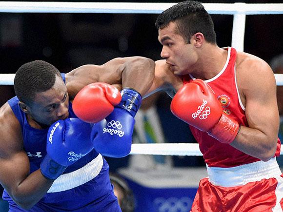 Rio olympics 2016, Vikas Krishan Yadav, Boxer Vikas Krishan, Boxing, Men's Middle, Summer Olympics 2016, Rio de Janeiro