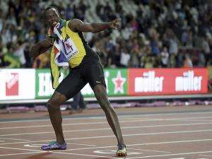 Usain Bolt's 100-metre party ends in London