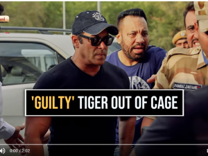 'Guilty' Tiger out of cage : Salman Khan's relief may last only 30 days